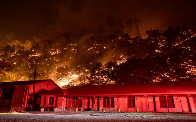 California wildfire, August 20th 2020 (Credit: Anda Chu/MediaNews Group/East Bay Times via Getty Images)