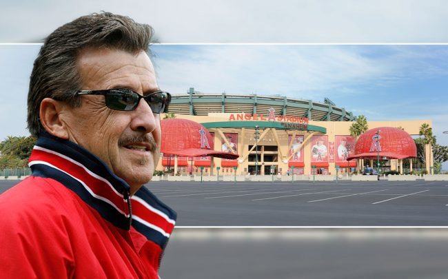 Arte Moreno and Angel Stadium of Anaheim (Credit: Larry Goren /Icon SMI/Icon Sport Media via Getty Images)