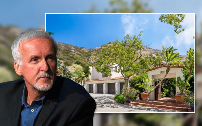 James Cameron and the property (Credit: Mike Pont/FilmMagic via Getty Images, and The Altman Brothers)