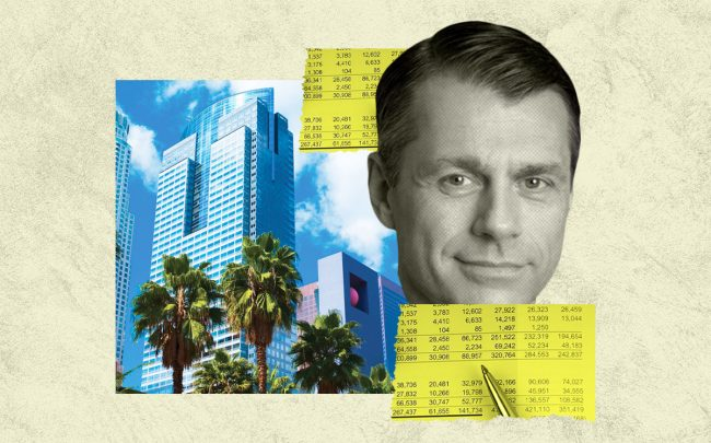 Brookfield Property Partners CEO Brian Kingston and the Gas Company Tower at 555 West 5th Street