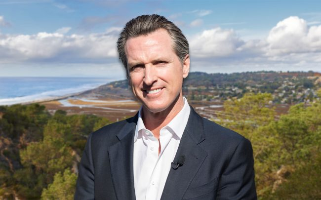 Gavin Newsom (Credit: Greg Doherty/Patrick McMullan via Getty Images)
