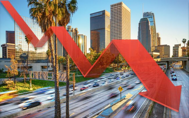 1.6 million square feet of office space was leased in L.A. in Q3