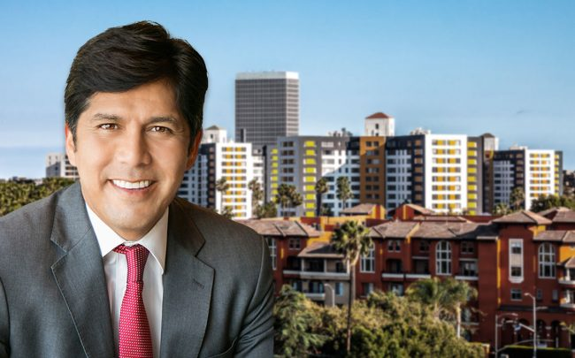 Los Angeles City Council member Kevin de León