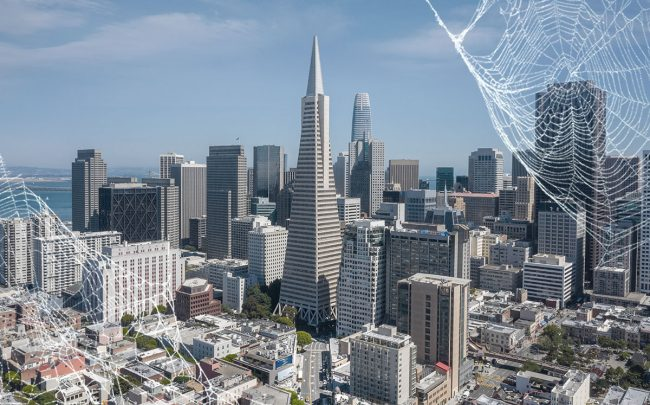 The remote work reality has sent San Francisco's office vacancy rate surging