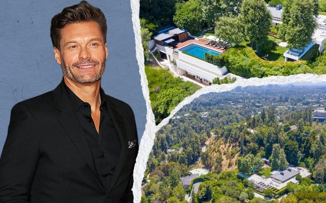 Ryan Seacrest and 1196 Cabrillo Drive (Getty)