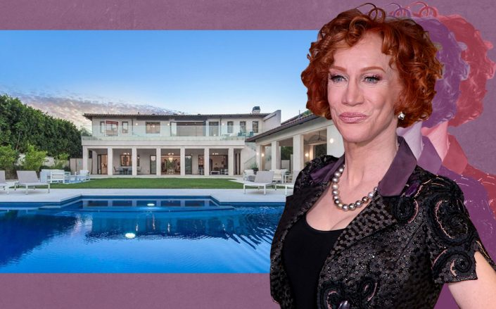 Kathy Griffin and her Bel Air home (Getty, Douglas Elliman)