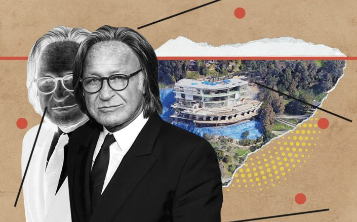 Mohamed Hadid and 901 Strada Vecchia Road (Getty, Google Maps)
