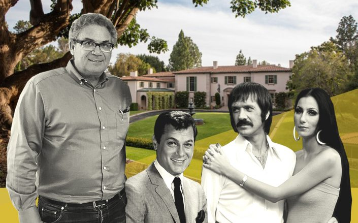 Robert Shapiro with Tony Curtis and Sonny & Cher with Owlwood Estate (Getty, The Viewpoint Collection)