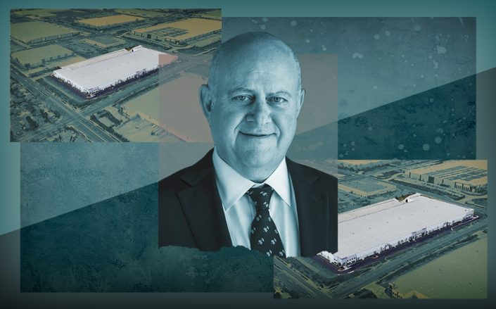 Prologis CEO Hamid Moghadam and 1920 West Baseline Road (Google Maps)