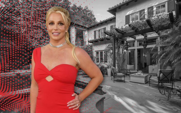 Britney Spears' Paparazzi-proof Former Home Fetches $6.4M. (Getty, The Altman Brothers)