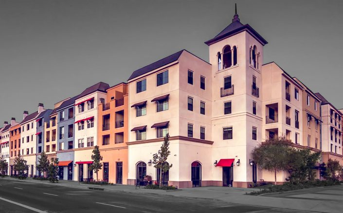 The units at Carson's Renaissance will be priced to serve middle-income renters. (The Renaissance at City Center)
