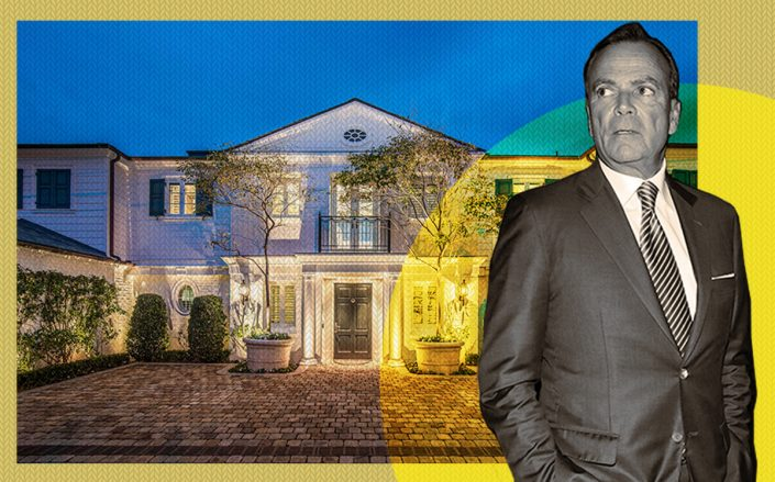 Rick Caruso and 21528 Pacific Coast Highway (Getty, The Agency)