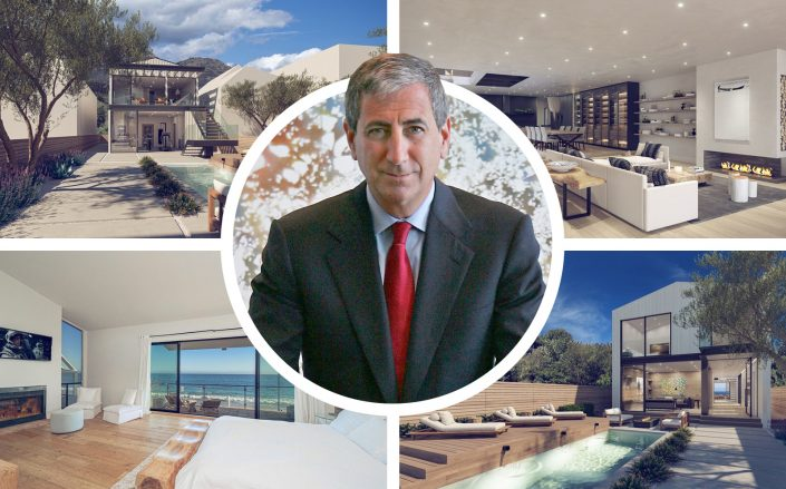 Ken Moelis pictured with his new property. (Getty, Douglas Elliman)