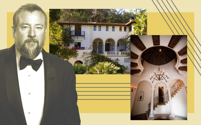 Shane Smith and his Santa Monica Estate (Photos via Getty; The Agency)