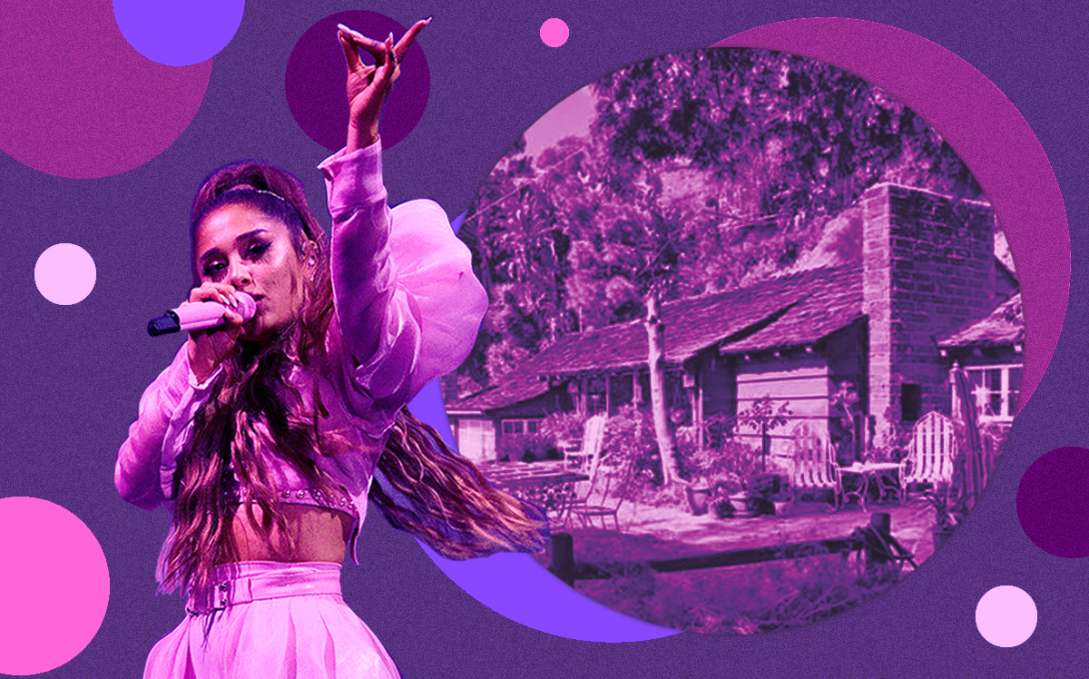 Ariana Grande and her Bird Streets property (Getty, Realtor)