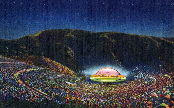 Illustration of the Hollywood Bowl (Getty)