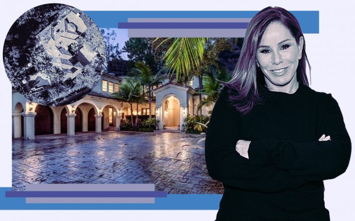 Melissa Rivers and her Santa Monica home (Getty, Zillow)