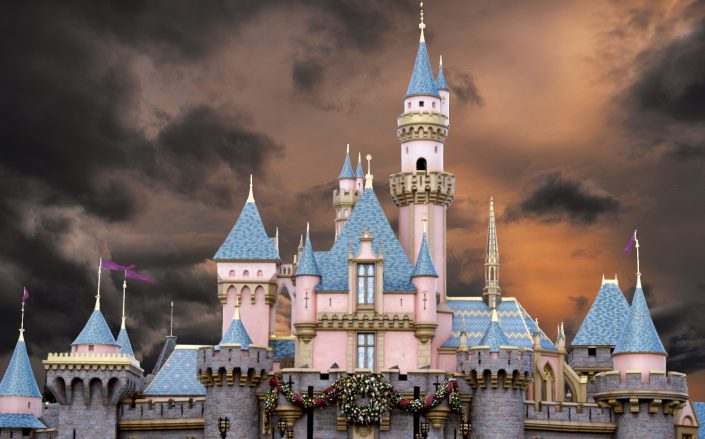 Disneyland, Six Flags and other theme parks statewide will be able to reopen at limited capacity, as long as counties comply with updated Covid metrics. (Getty)