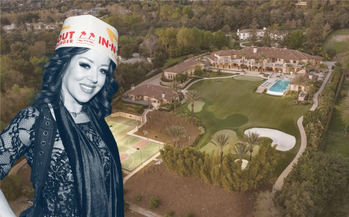 Lynsi Snyder's  property was last listed for just short of $20 million. (Getty,  Realtor.com)