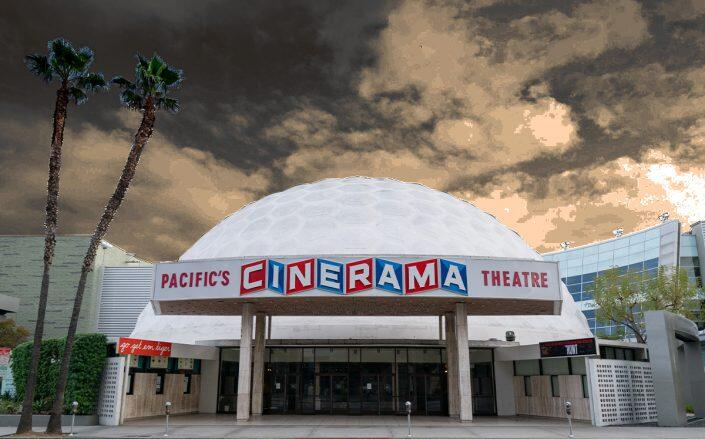 Cinerama Dome in Hollywood (Getty)