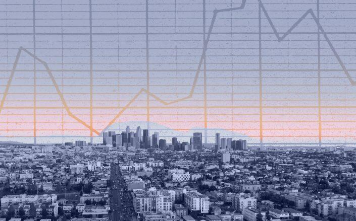 LA inventory couldn't keep up with demand last Month. (Getty)