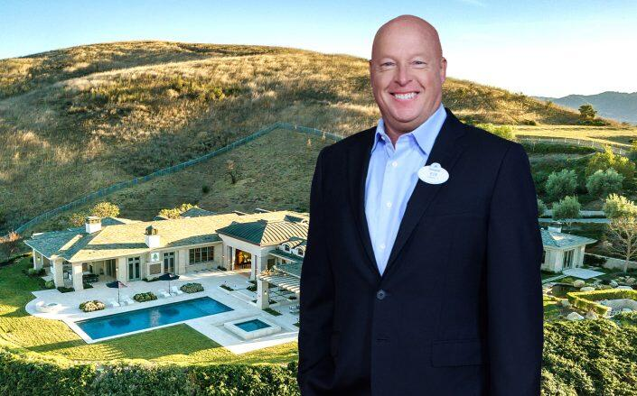 Disney CEO Bob Chapek buys a $13M estate after laying off thousands of employees. (Getty, Jordan Cohen)