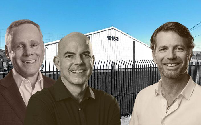 Rexford Co-CEOs Howard Schwimmer and Michael S. Frankel and Quixote CEO Mikel Elliott. (Google Maps, Rexford, Quixote)