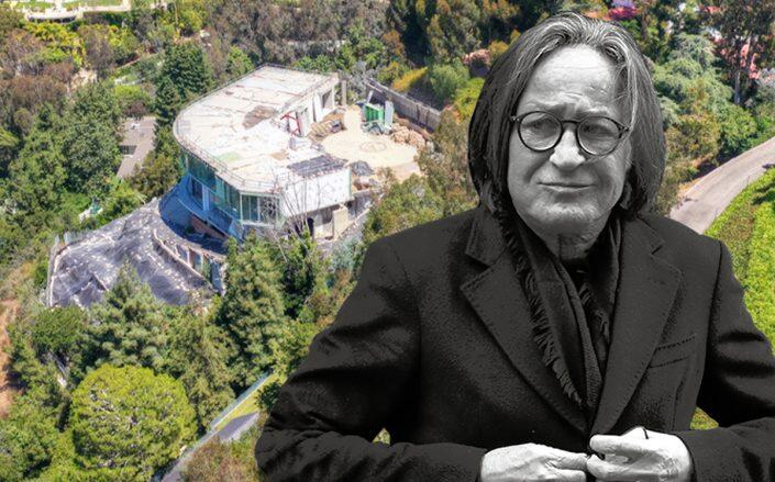 Mohamed Hadid and 901 Strada Vecchia Road (Getty, Redfin)