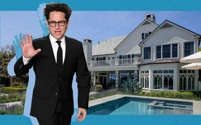 J.J. Abrams and the San Remo Drive home (Getty, Realtor)