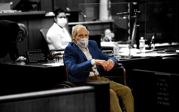 Robert Durst in court on May 18, 2021 (Getty)