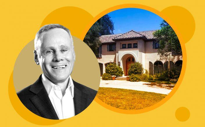Rexford Industrial Co-CEO Howard Schwimmer and the property (Rexford, Zillow)