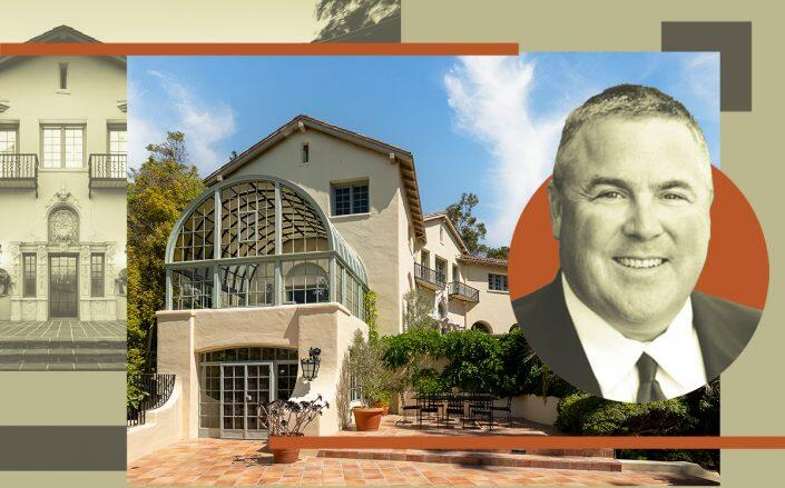 LA Dodgers co-owner Bobby Patton and the property (MLB, Compass)