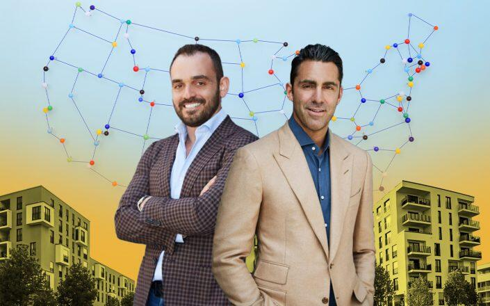 Trion Properties managing partners Max Sharkansky and Mitch Paskover (Trion Properties, iStock)