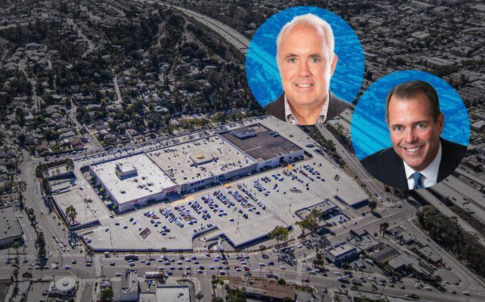 Eastern Real Estate — led by Brian Kelly and Daniel Doherty, above — and Atlas Capital Group acquired Eagle Rock Plaza  (Eastern Real Estate)