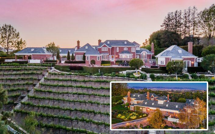 Hidden Hills mansion and boutique winery hits the market for $13.8M