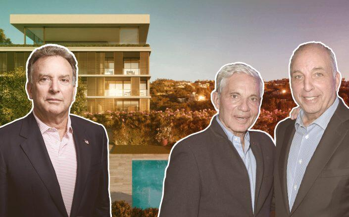 Witkoff Group CEO Steve Witkoff, Simon and David Reuben and The West Hollywood Edition (Getty, Witkoff)