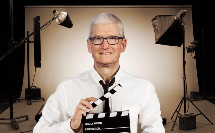 Photo Illustration of Apple CEO Tim Cook (Getty)
