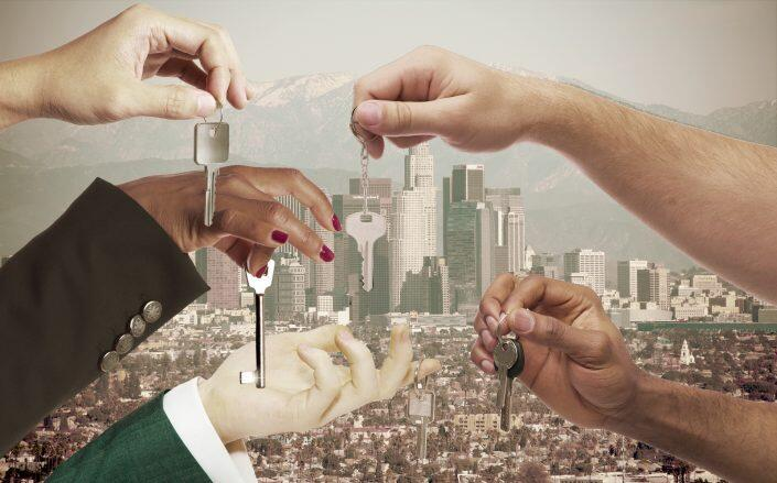 Demand and prices are rising in the L.A. County rental market (Getty)