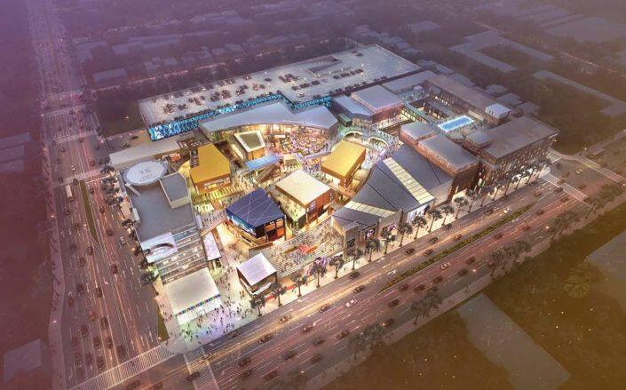 The retail development known as The Source was completed in 2016 (The Source)