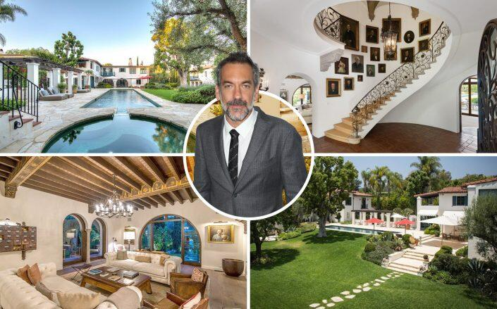 Director Todd Phillips and the property (Getty, Coldwell Banker Realty)