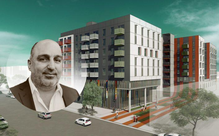 Plans for the Woodland Hills project with Urban Stearns co-founder Shy Cohen  (Togawa Smith Martin, Urban Stearns)