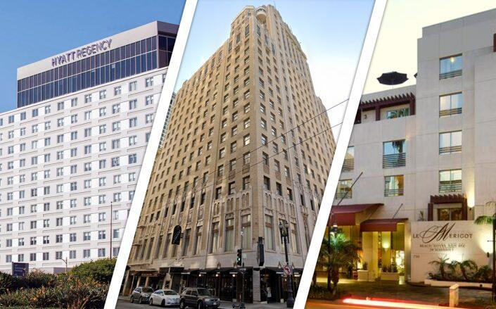"""Hotel sales in California """"completely rebound"""" from 2020 levels"""