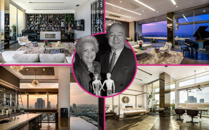 """Mattel founders Ruth and Elliot Handler and the """"Barbie Penthouse"""""""