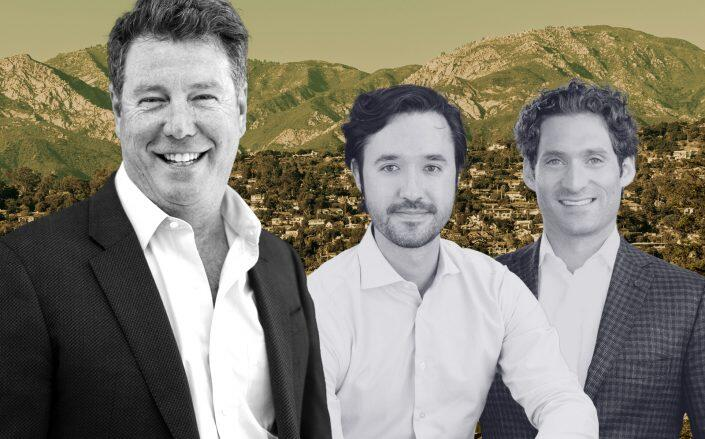 Nick Segal and Avenue 8 co-founders Michael Martin and Justin Fichelson (Segal, Avenue 8)
