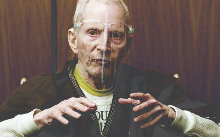 Robert Durst testifying on August 9th (Getty)