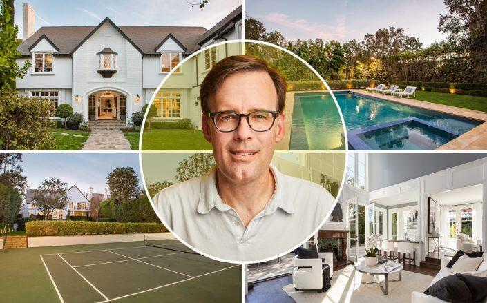 Snap Inc.'s Michael O'Sullivan with the Brentwood property (Compass, Snap, Inc.)