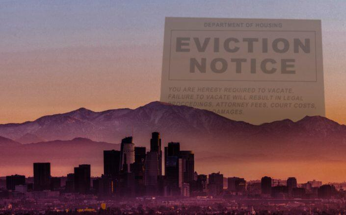 The end of California's eviction moratorium is quickly approaching (Getty)