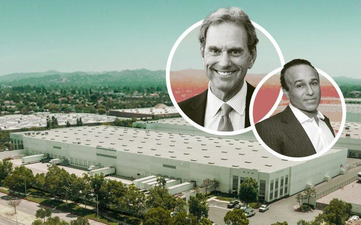 CenterPoint Properties CEO Bob Chapman, Developer Moishe Mana and the property (CenterPoint, Getty, Daum Commercial)