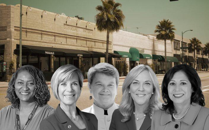 LA County Board of Supervisors. From left to right: Holly J. Mitchell, Janice Hahn, Sheila Kuehl, Kathryn Barger and Hilda L. Solis (Getty, Board of Supervisors)