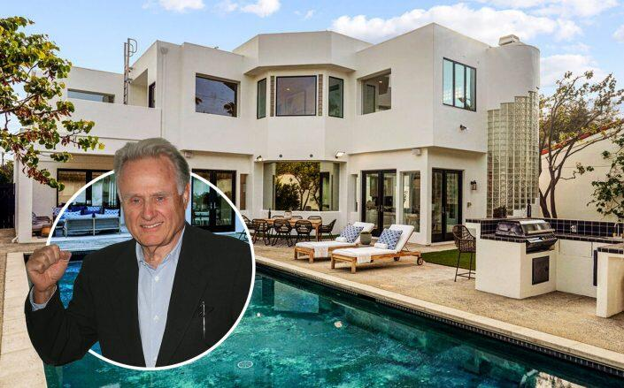 Boxing analyst Larry Merchant and his Santa Monica home (Compass, Getty)